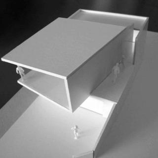 maquette, photographie, chaudfontaine, blanc, design, architecture, architecte, exterieur