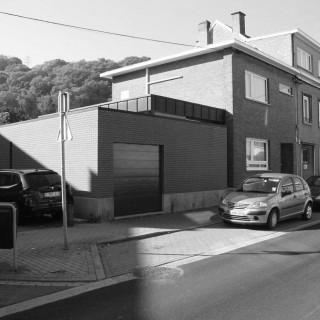 construction garage, moderne, geoffrey, hody, design, architecture, architecte, ville